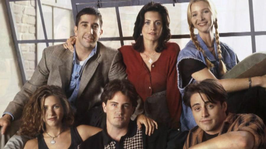 Friends' cast reunites...