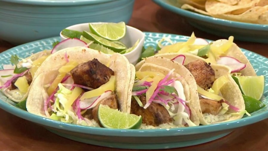 30-Minute Fish Tacos with Garlic, Mint and Cumin MayoTODAY.com
