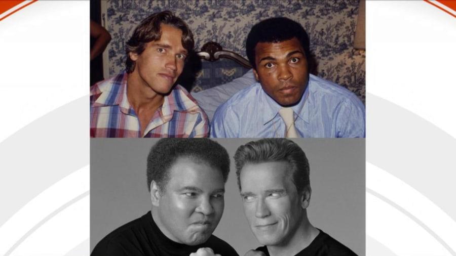 Muhammad Ali's daughte...