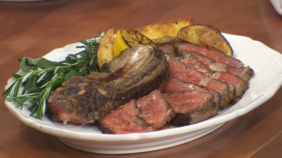 simple rib eye steak recipe to grill for your Father's Day dinner