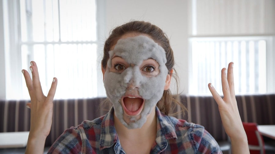 Milky piggy bubble mask review does it work today test drive watch the bubble face mask in action thecheapjerseys Image collections