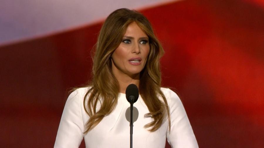 Melania Trump: 'I wrote' my RNC speech 'with as little help as possible'