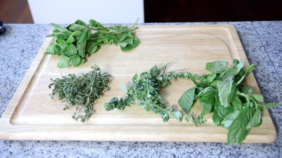 Here's the trick to keeping fresh herbs from going bad