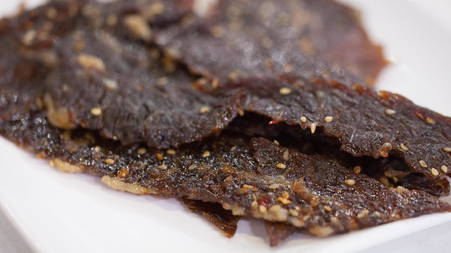 Try Al Roker's protein-packed brisket jerky for back-to-school