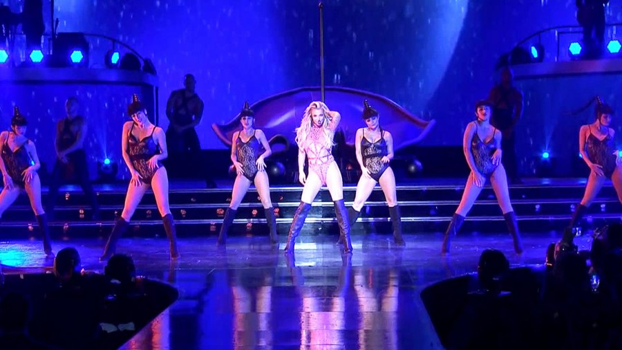 Britney Spears Puts On Special Performance For Today