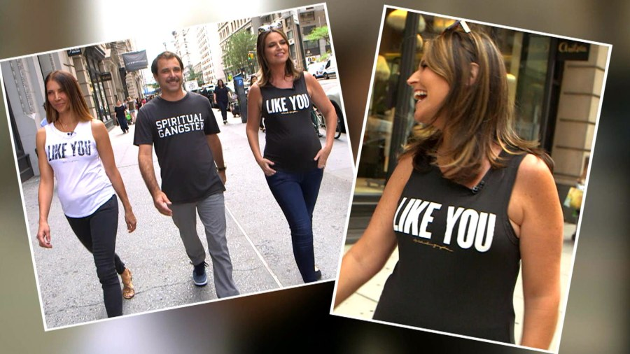 Savannah Guthrie teams up with Spiritual Gangster to create a T ...