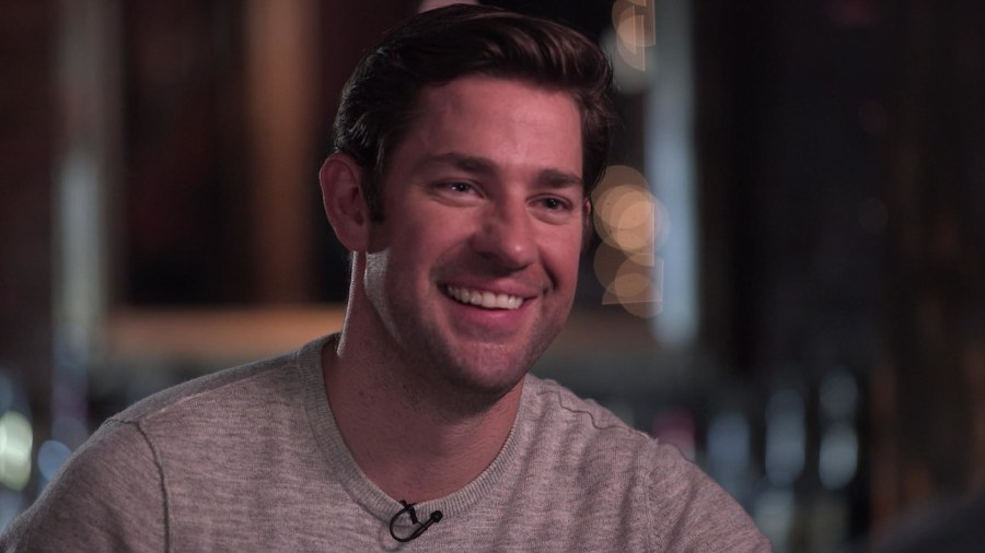 John Krasinski Talks The Office Success Family Lottery Ticket Life