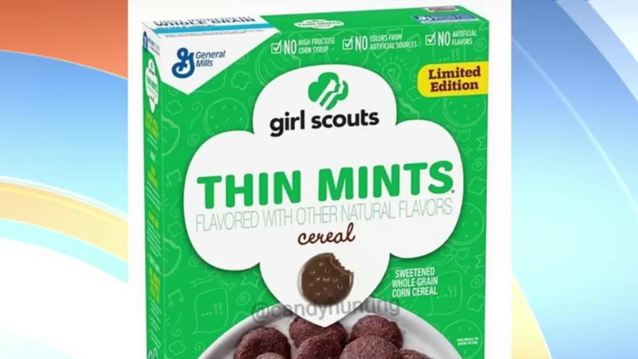 Cookies for breakfast? Girl Scout cereals are coming soon
