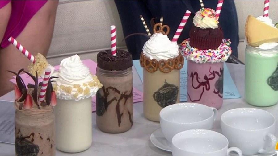 Universal's Toothsome Chocolate Emporium unveils one-of-a-kind milkshakes