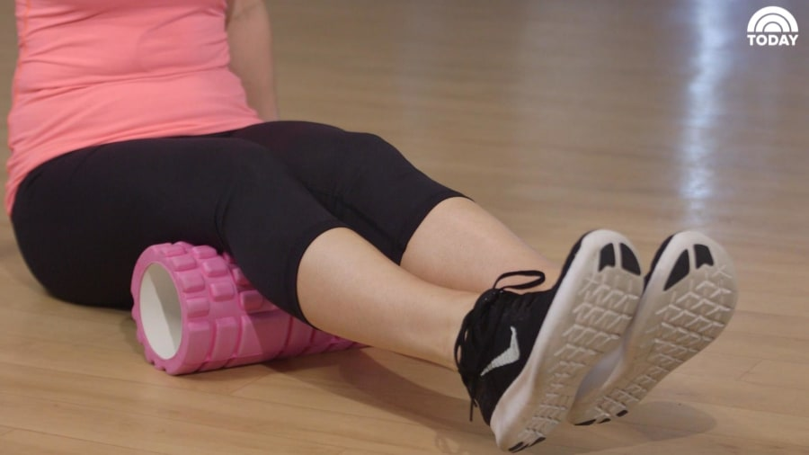 Foam Rolling 101 With Fitness Guru Anna Victoria