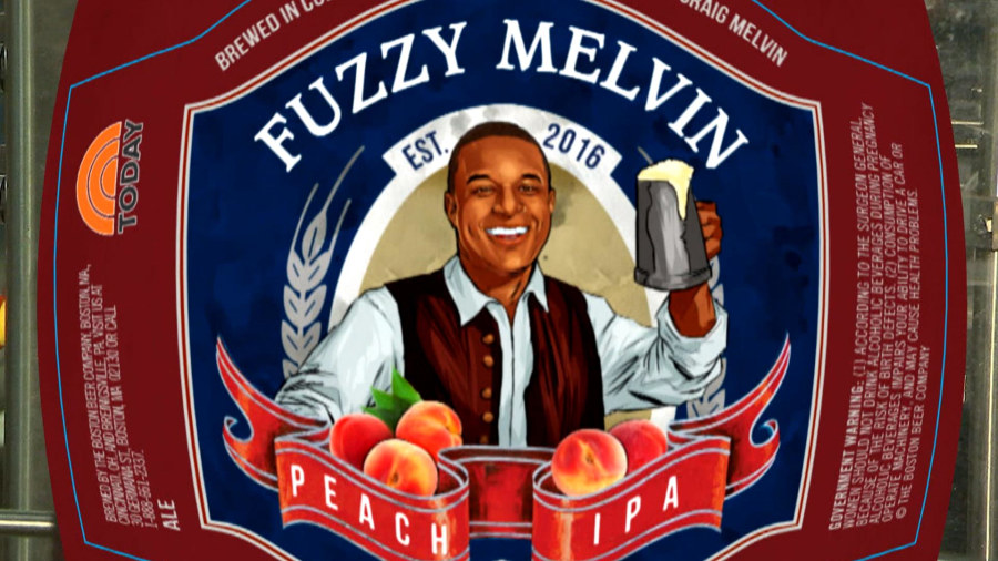 TODAY's Craig Melvin crafts his own beer at Samuel Adams brewery