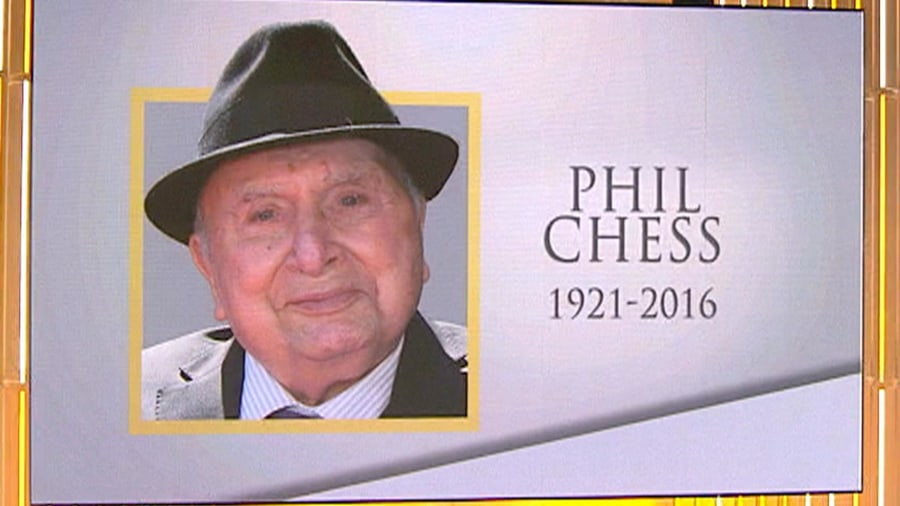 Life Well Lived Phil Chess Who Helped Bring Blues Music
