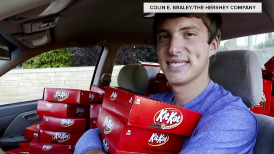 Thief sets the stage for Kit-Kat bonanza