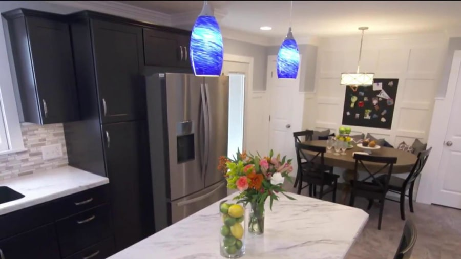 Perfect Watch This Couple React To Kitchen Makeover Of Their Dreams
