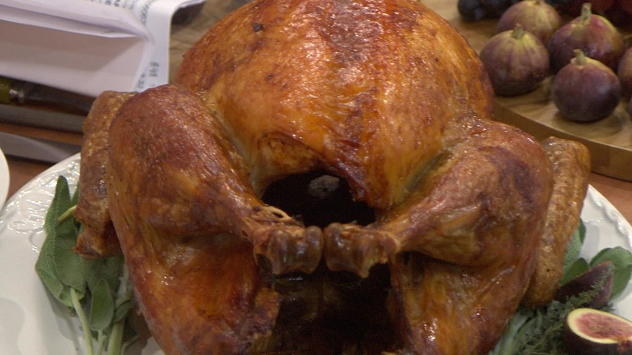 Martha Stewart S Upside Down Turkey Today Com