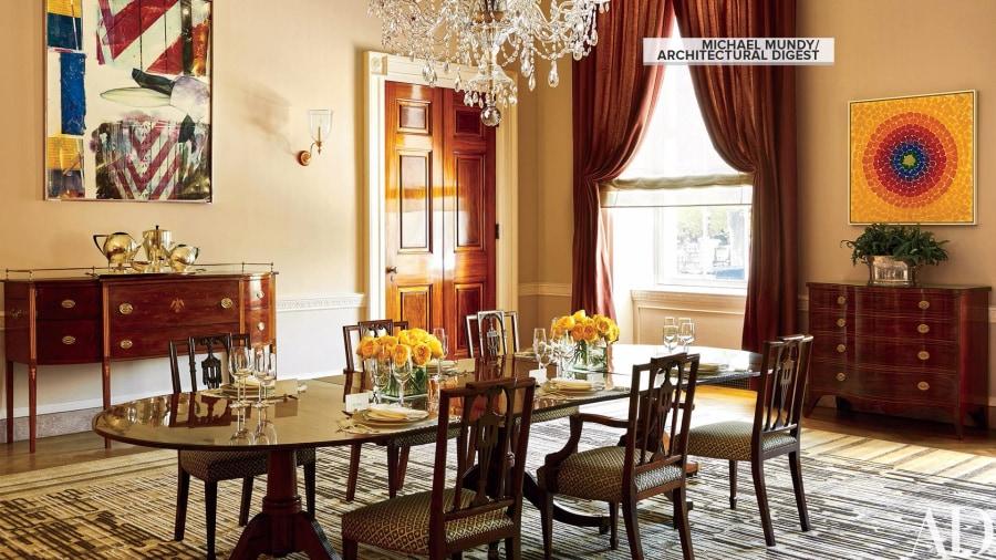 Visit Obamas Private Living Quarters Kourtney And Khloe Kardashians Lavish Homes
