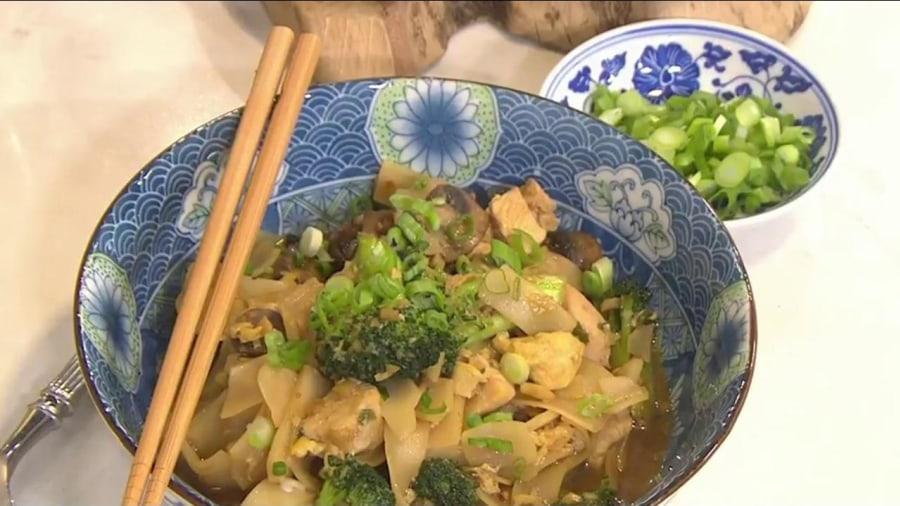 Chrissy Teigen shares her recipe for 'actual' drunken noodles