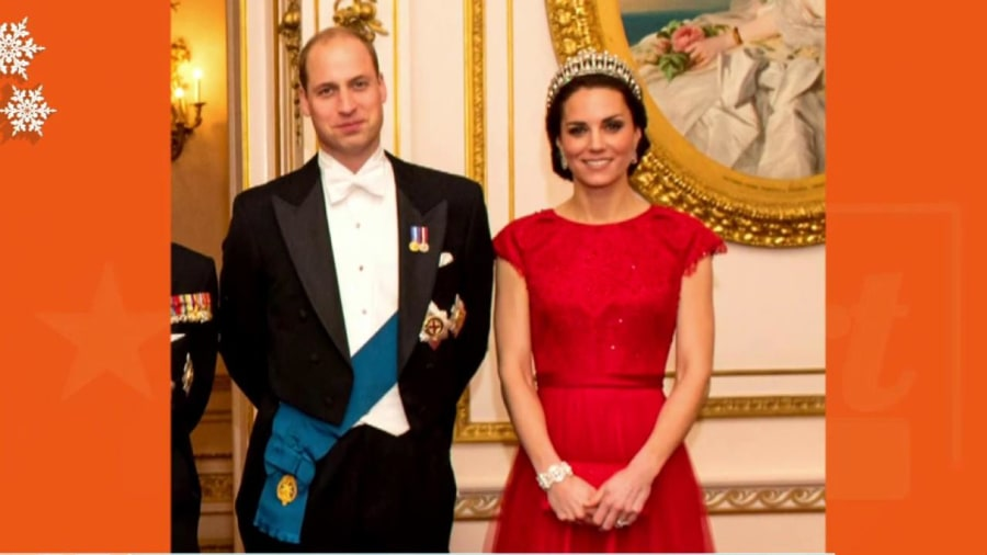 Kate Middleton Dazzles at Diplomatic Reception in Princess Diana's Favorite Tiara