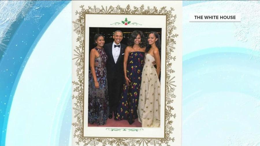 The Obamas send their final White House Christmas card - TODAY.com