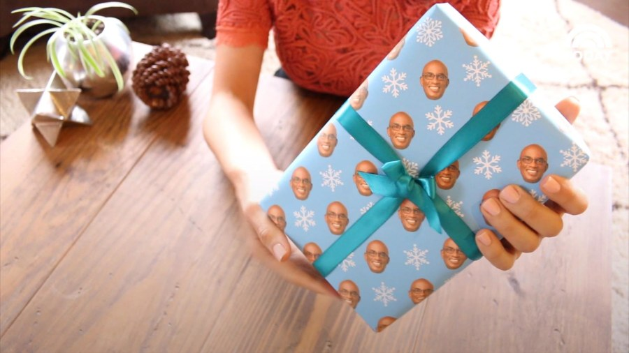 15 second gift wrap hack - TODAY.com