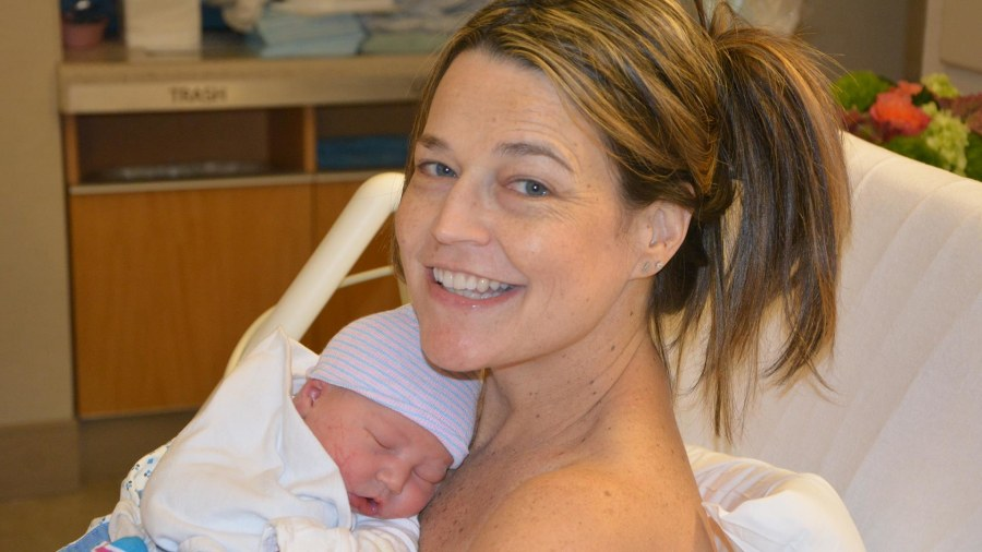 'Today' show's Savannah Guthrie gives birth to boy