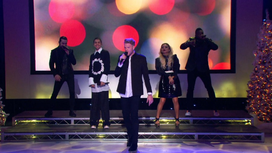 Pentatonix Christmas' preview: See group perform 'Joy To The World ...