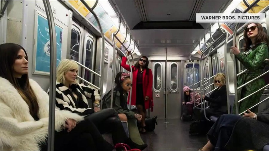 Watch Sandra Bullock's 'Ocean's 8' trailer