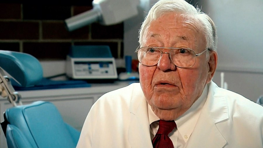 Live To 100 Meet The 81 Year Old Dentist Whos Still Going Strong After 58 Years