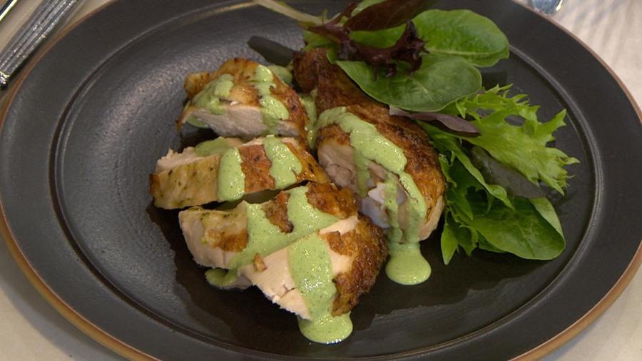 Make green goddess roasted chicken: Slimmed down (but full of flavor)