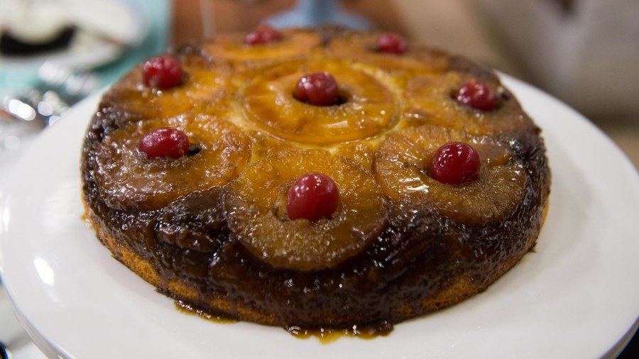 Apple Upside Down Cake Nigella