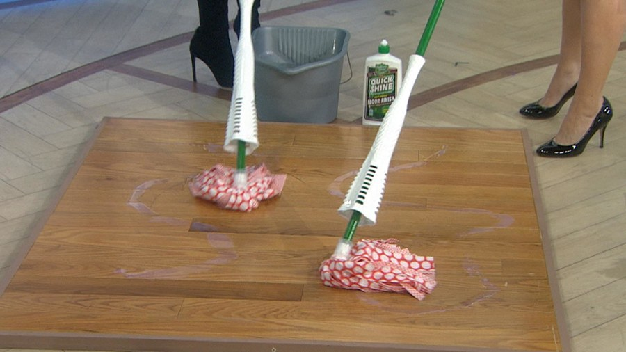 How To Mop Floors And Clean House More Quickly And Efficiently
