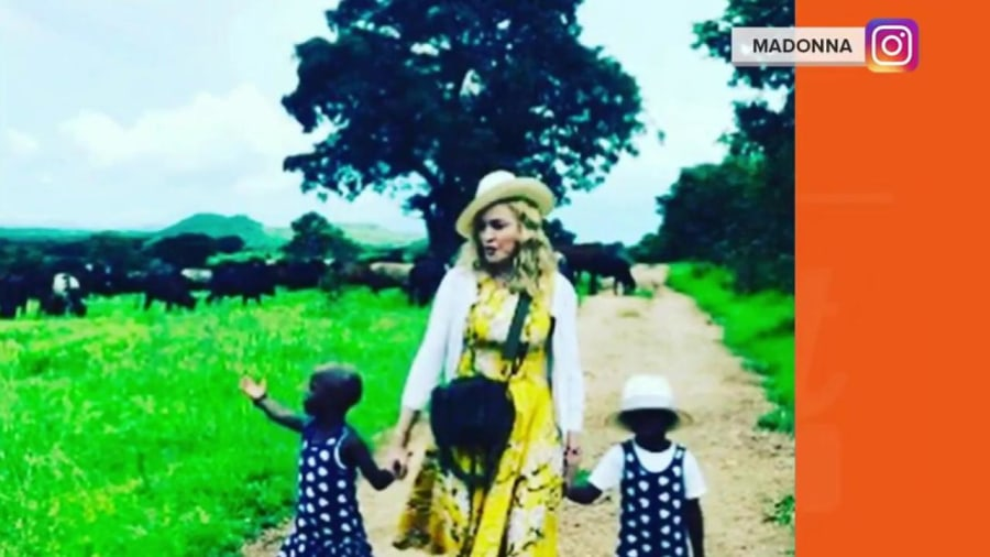 Madonna opens up about adoption process and parenting