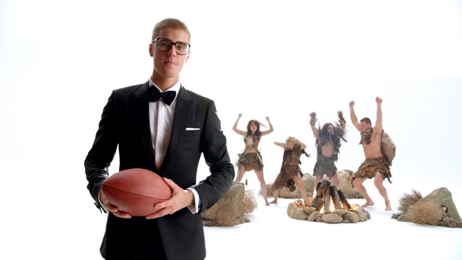 Watch Justin Bieber Talk Dance Moves In T-Mobile's Super Bowl Ad