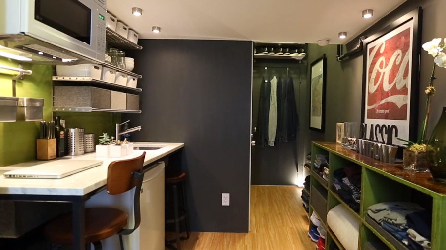 150 Square Foot Apartment Of Actor Anthony Triolo