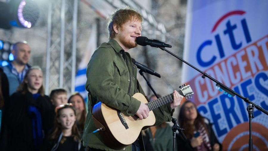 Resultado de imagem para Ed Sheeran today show