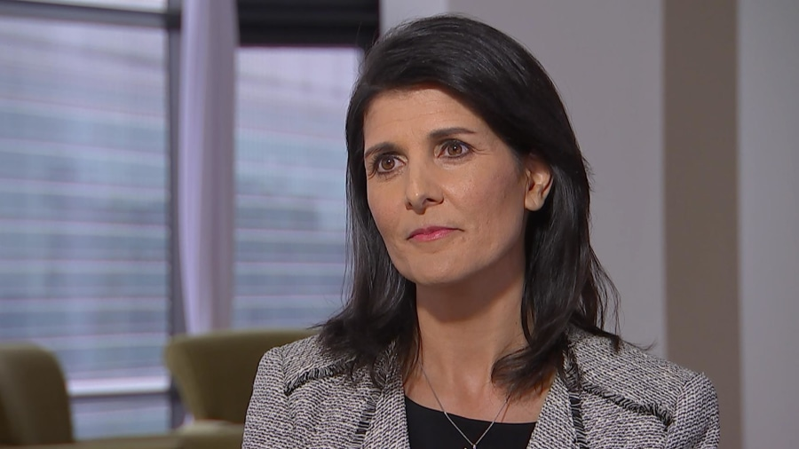 FT Roundup: Haley on Trump - 'I want him to be successful'
