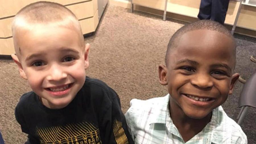 Boy wants a haircut to look like his friend, trick teacher - TODAY.com