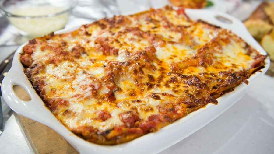14 easy dinner recipes for the perfect sunday supper today try al rokers original vegetarian lasagna recipe its so good forumfinder Images