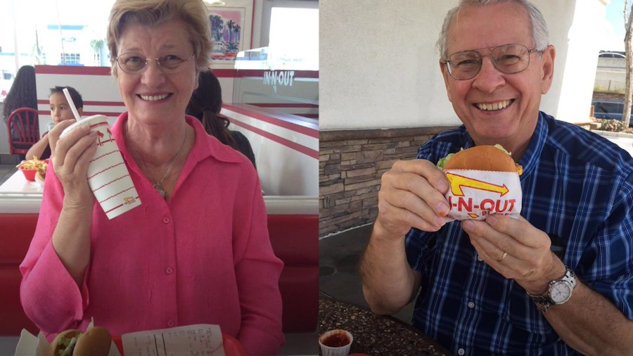 This couple has been married for 53 years and has a weekly burger date night
