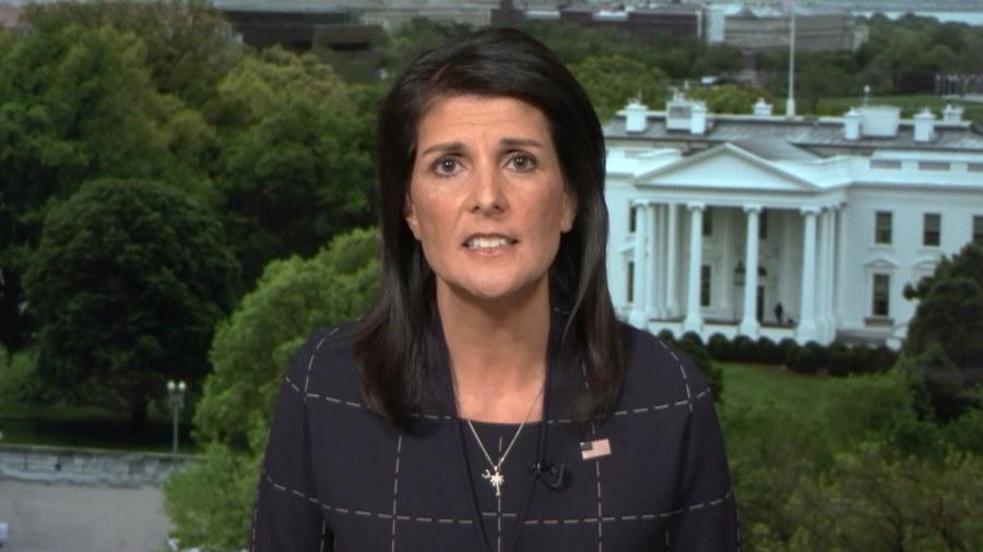 Haley warns NKorea about attacking USA base or testing ICBM