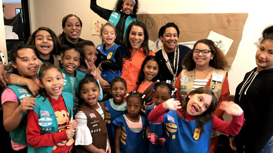 Homeless Girl Scouts get their own troop
