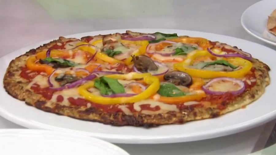 Today Food Joy Bauer Shares  Diet Friendly Pizza Recipes T