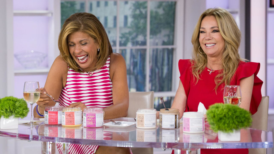 Tryday Friday: Watch Kathie Lee and Hoda taste liquor-infused ice cream