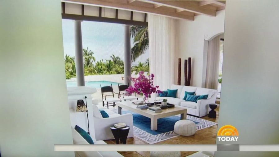Faith Hill, Tim McGraw show off Bahamas beach house