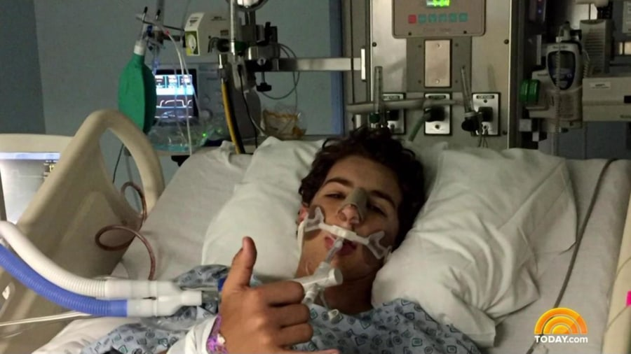 Son of Ex-MLB Player Headed Home After Freak Baseball Accident