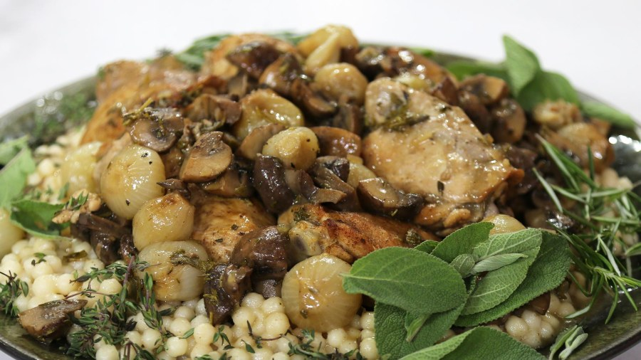 Spiced chicken with lebanese couscous today make shawarma spiced baked chicken with lebanese couscous heres how forumfinder Gallery