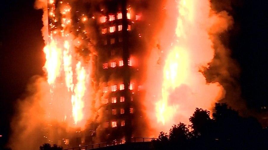 6 killed, 74 injured in massive London high-rise blaze