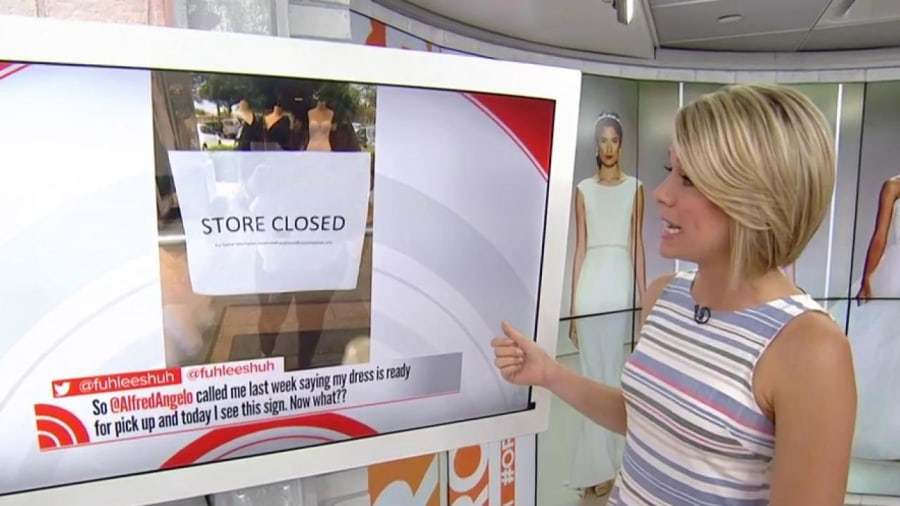 Alfred Angelo Closed Its Stores and Brides Are Rightly Bugging Out
