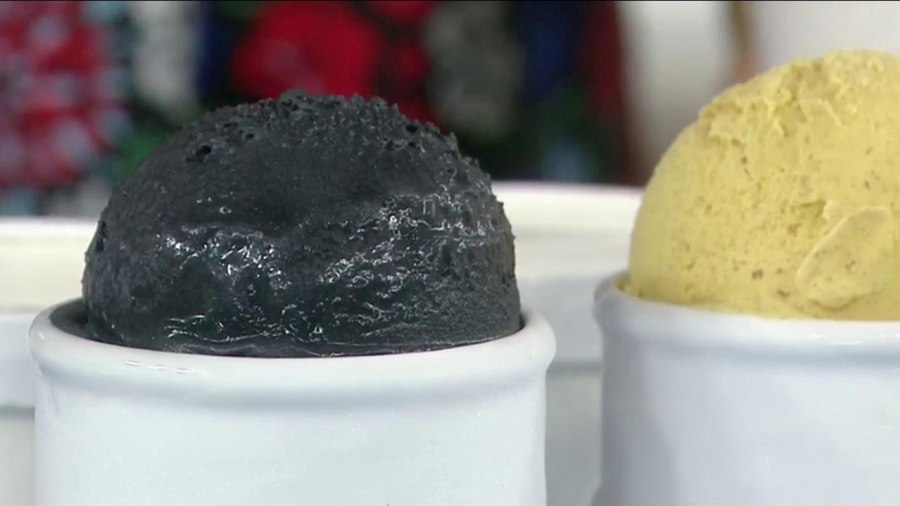 Charcoal ice cream?? Get the scoop on wild and wacky new trends