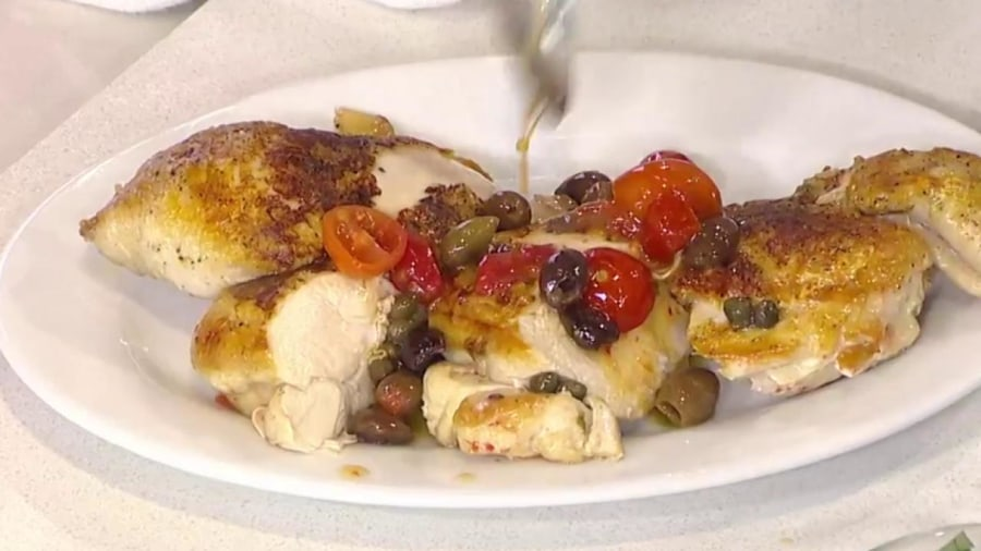 Make Provencal-style chicken and rosemary potatoes: C'est magnifique!